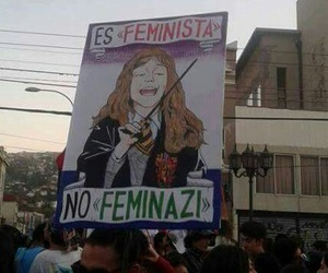feminist, harry potter, and feminism image