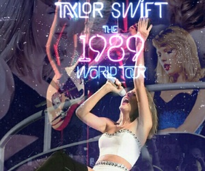 1989, Taylor Swift, and 1989 tour image