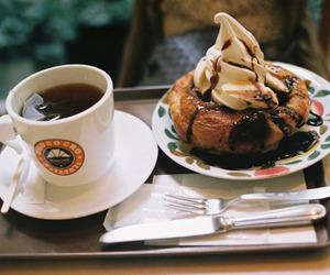 food, coffee, and vintage image