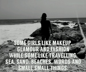 beach, girl, and life image