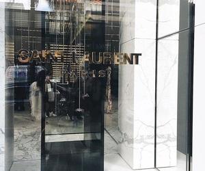 fashion, luxury, and saint laurent image