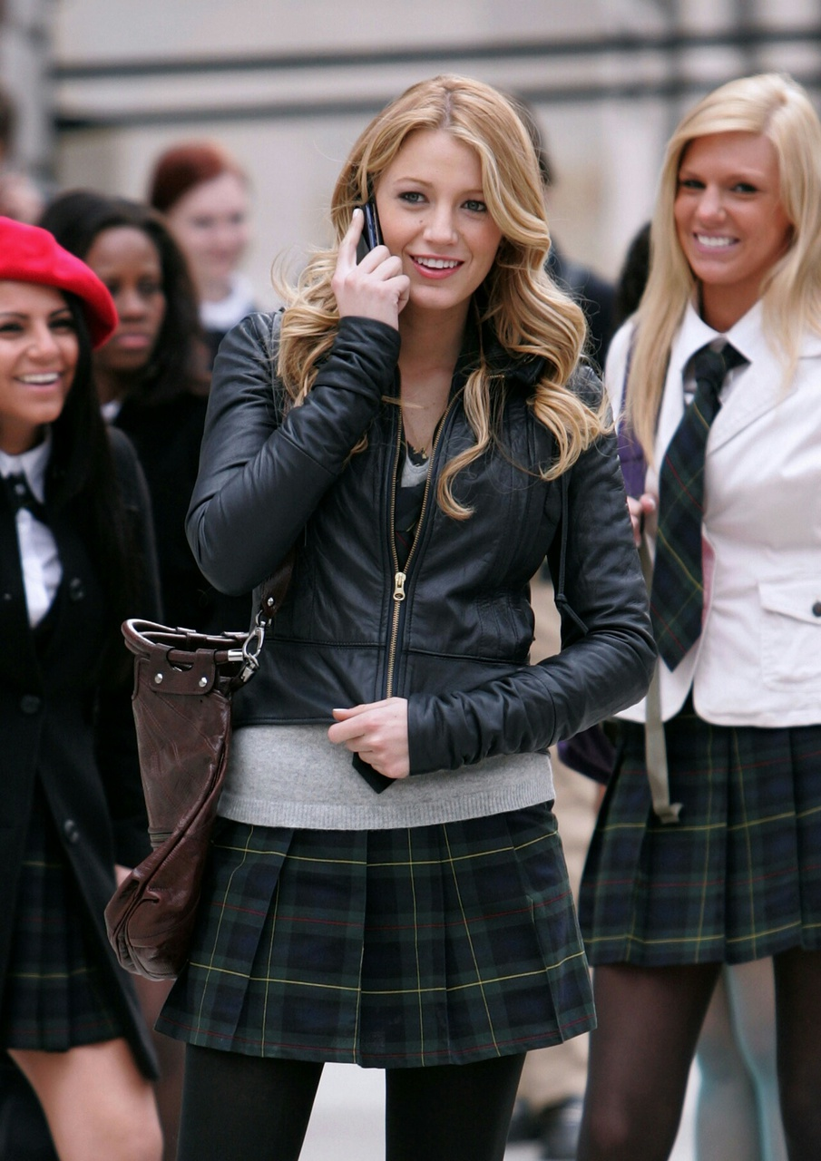 blake lively, gossip girl, and clothes image