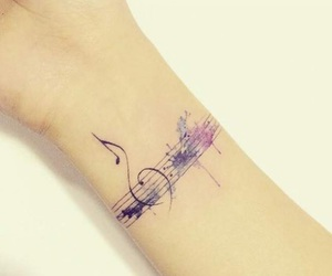 tattoo and music image
