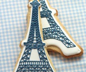 paris, Cookies, and food image