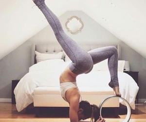 fitness, yoga, and workout image