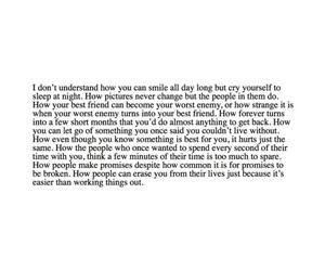 depressed, quotes, and sad image
