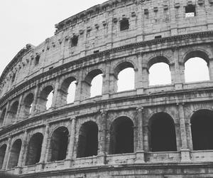 Arhitecture, colosseum, and italia image