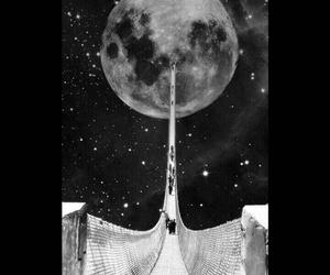 magic, moon, and road image