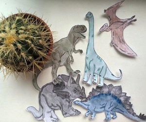 cartoons, color, and dino image