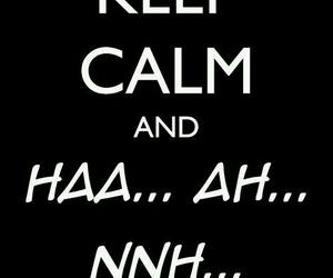 AHH, keep calm, and yaoi image