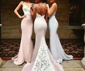 beautiful, girls, and dress image