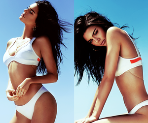 beach, kylie jenner, and model image