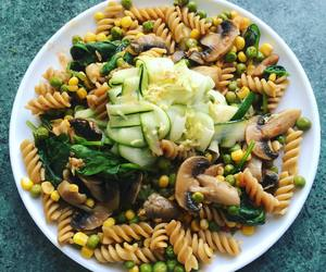 dinner, vegan, and food image