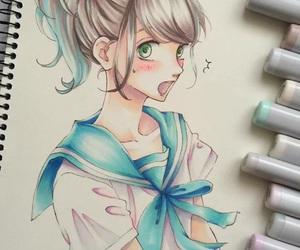 kawaii, manga, and manga girl image