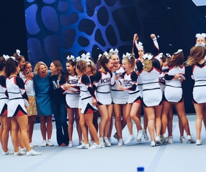 cheer, goals, and Cheerleaders image