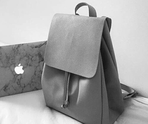 grey, bag, and apple image