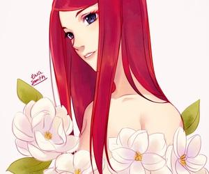 anime and kushina uzumaki image
