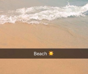 beach, snapchat, and girls image