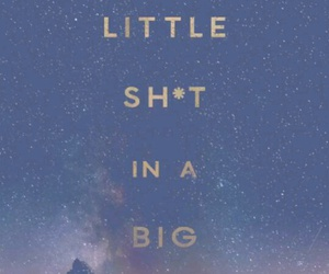 big world and little shit image