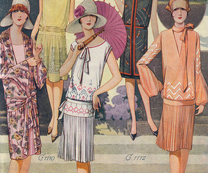 1920s, 1928, and dress image