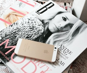 iphone, magazine, and apple image