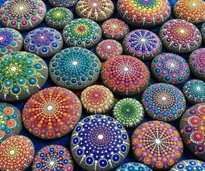 stone, art, and color image