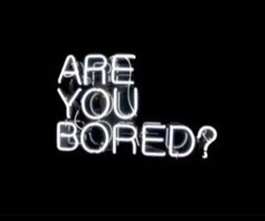 black, bored, and neon image