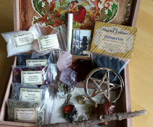 etsy, gift set, and witchcraft supply image