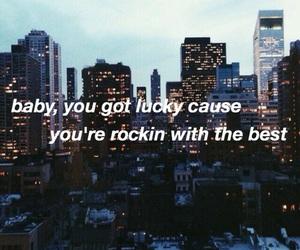 city, song lyrics, and greedy image
