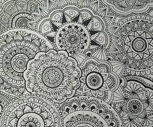 drawing, mandalas, and art image