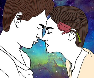 galaxy, outline, and Shailene Woodley image