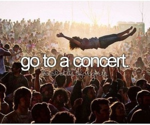 before i die, concert, and bucket list image