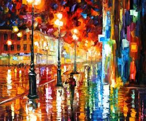 leonid afremov and painting image