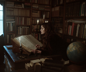 atmosphere, beauty, and books image
