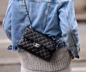 fashion, chanel, and denim image