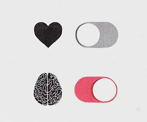 brain, heart, and off image