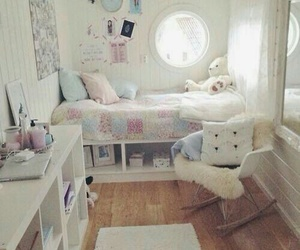 bedroom, children, and fashion image