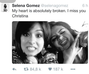 christina, rip, and selena image