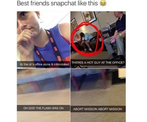 funny, snapchat, and best friends image