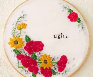 art, embroidery, and indie image