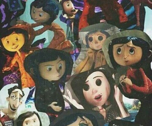 coraline, wallpaper, and movie image