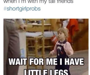 full house, cute, and short girl problems image