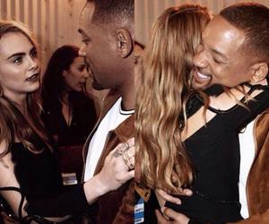 cara delevingne and will smith image