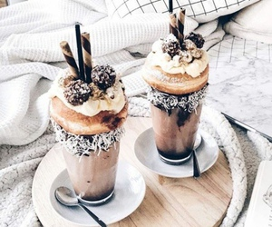 food, chocolate, and drink image