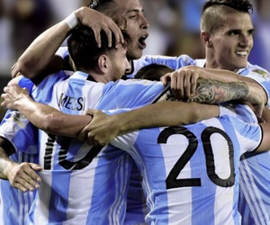 argentina, chicago, and messi image
