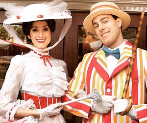 disney, Mary Poppins, and smile image