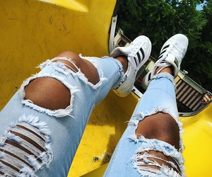 adidas, tanned, and fashion image