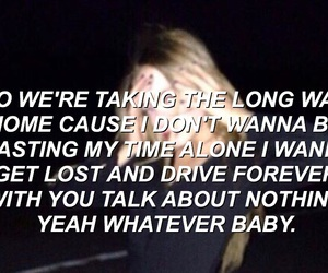 song lyrics, dark blur, and 5 seconds of summer image