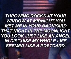 song lyrics, 5 seconds of summer, and midnight grunge image
