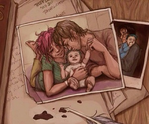family, teddy, and lupin image